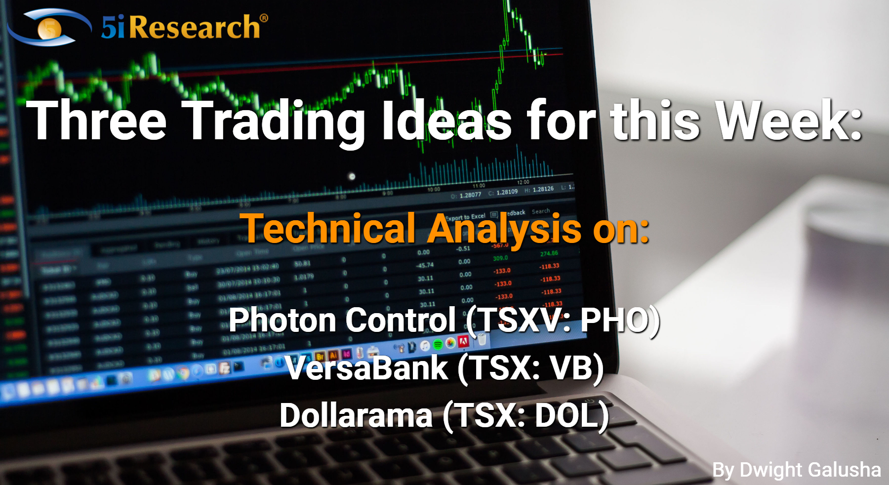 Technical Analysis on Photon Control, VersaBank, Dollarama
