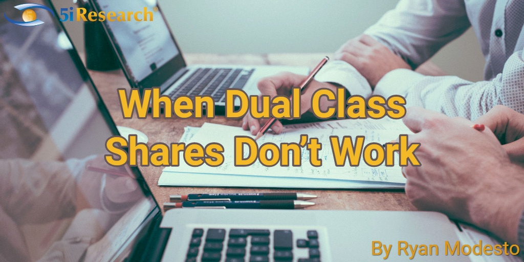 When dual class shares don't work