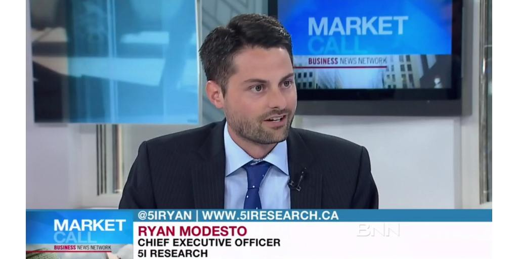 5i's Ryan Modesto Live on BNN
