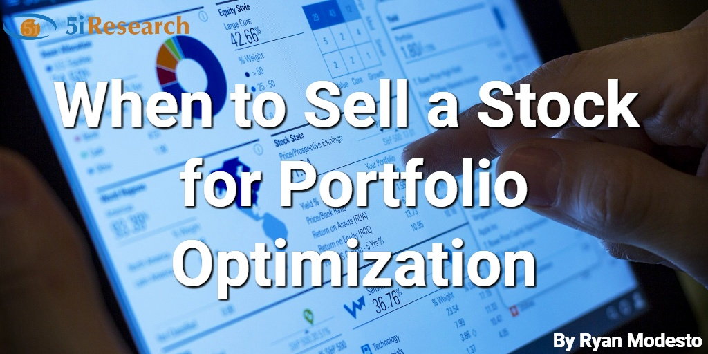 When to Sell a Stock for Portfolio Optimization