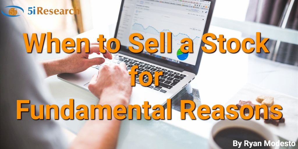 When to sell a stock for fundamental reasons